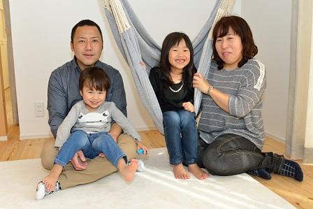 設計士と直接話しが出来、家族みんなの希望通りの家が建てられました。